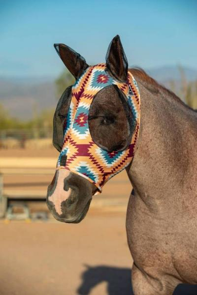 Comfort-Fit Fly Mask Aztec
