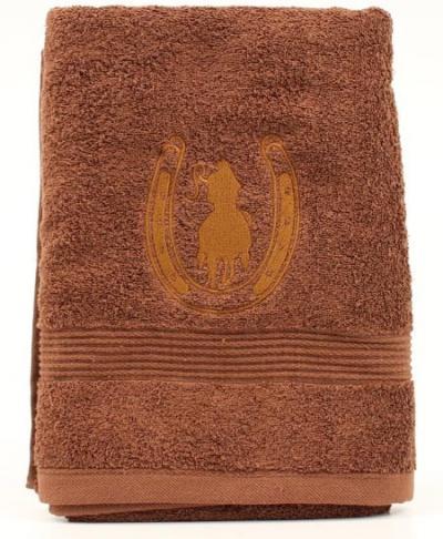 bath_mf_western_bath_towel_horseshoe_rider_brown.jpg