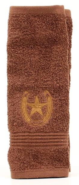 bath_mf_western_washcloth_horseshoe_star_brown.jpg