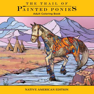 painted_ponies_coloring_book