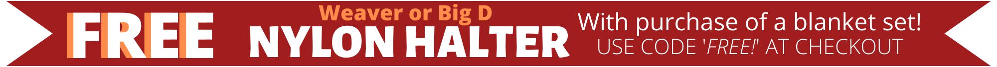 Free Nylon Halter