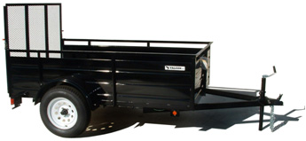 2021 EAGLE 5'X10'X2' ULTRA CLASSIC UTILITY TRAILER