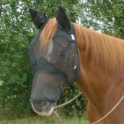 Cashel Quiet Ride Standard Long Nose with Ears Fly Mask