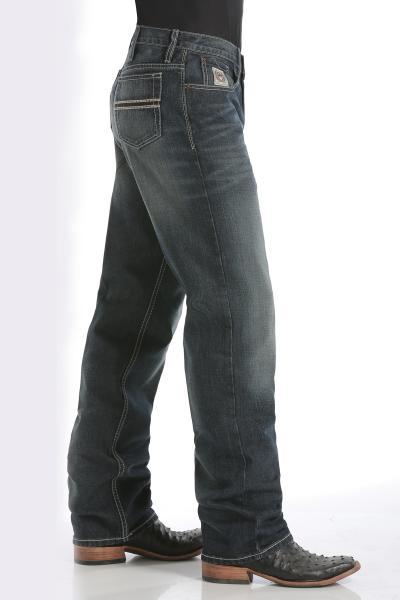 Cinch White Label Dark Stonewash Relaxed Fit Jean