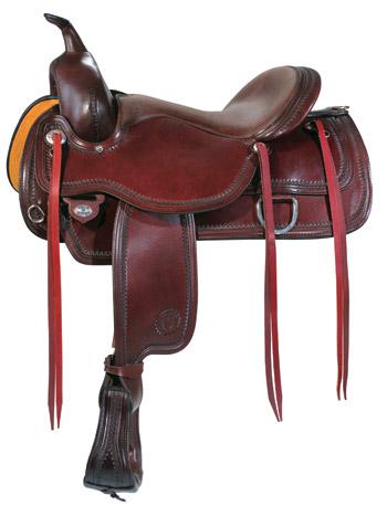 Topeka Flex2� Trail Saddle 1651