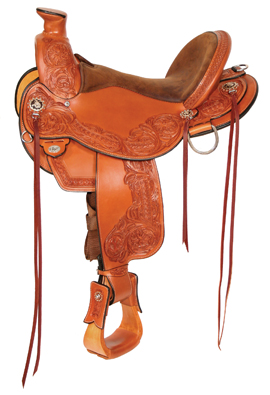 Walnut Grove A-Fork Saddle 1157